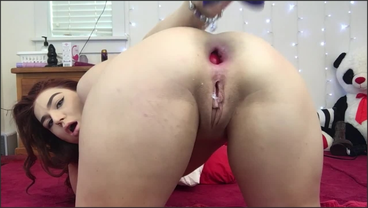Anal Play With Toys And Big Gape Lexa Lite