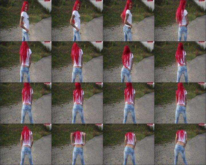 Lexy Roxx / lexyroxx in meine neue jeans gepisst