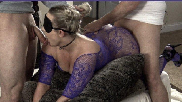 Wife First Threesome Orgasm