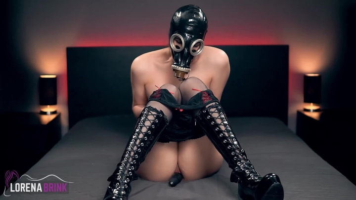 Lorena Brink Gas Mask And Domi Vibrator