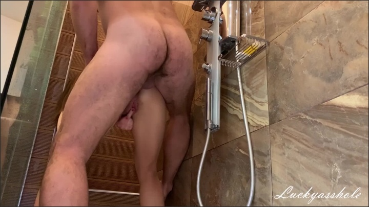 [Full HD] Lucky Guy In Shower Fucked His Step Sister In Anal Until Mom Doesn T See - Luckyasshole - - 00:23:21 | Ass Fuck, Step Brother - 370,2 MB