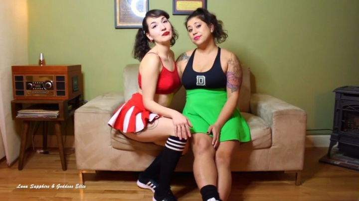 Luna Sapphire Cheerleader Double Domme Humiliation Sph