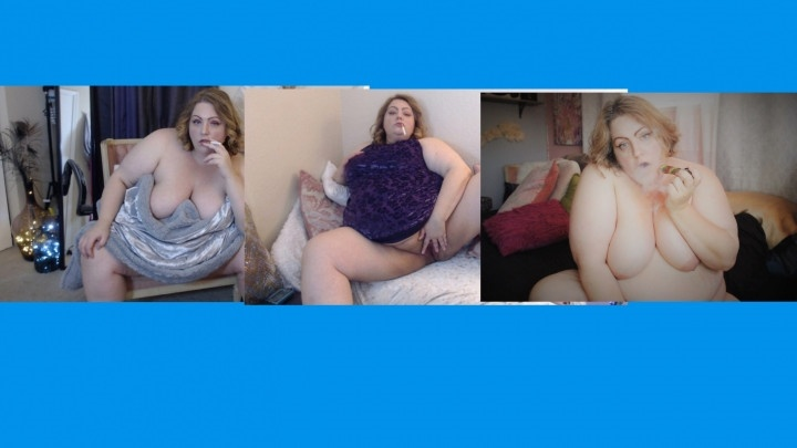Lusciousrose69 Bbw Smoking Compilation