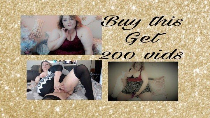 Lusciousrose69 Buy This Get 200 Vids