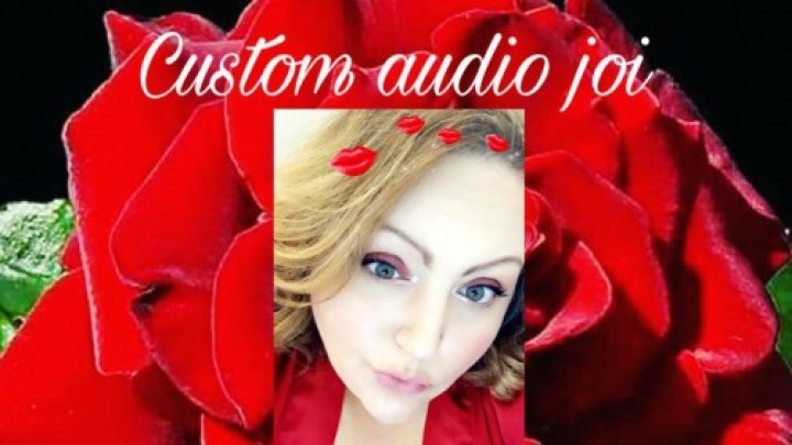 Lusciousrose69 Custom Audio Joi