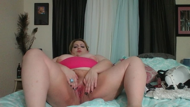 Lusciousrose69 Mesmerized By My Bbw Pussy