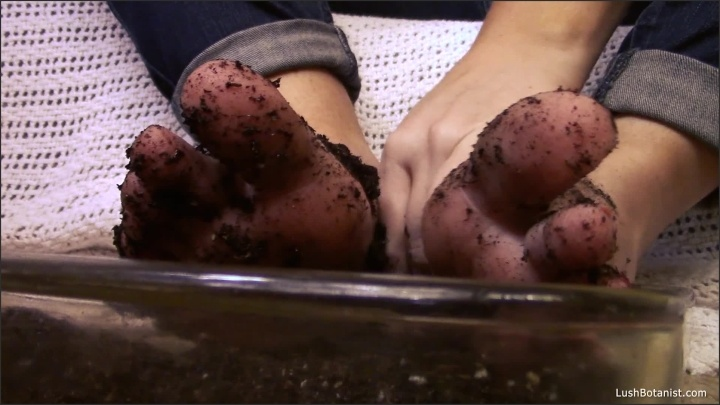 [Full HD] Lushbotanist Jack Off To My Dirty Garden Feet - LushBotanist - ManyVids - 00:05:16 | Bbw Feet, Dirty Feet, Highly Arched Feet - 166,6 MB