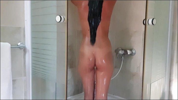 Deviousbrunette Hotel Shower