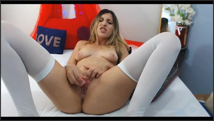 Ellieyourgirl Vibrator And Cum