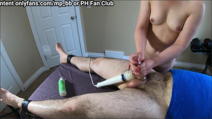 [WQHD] 4K Naked Amateur Girlfriend Gives Oiled Handjob With Post Orgasm Torture - MP_BB - - 00:12:56 | Bondage, Vibrator Cock - 384,7 MB