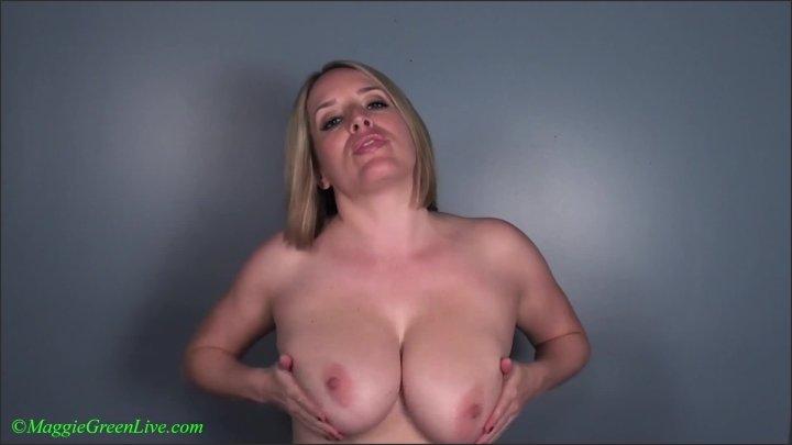 Maggie Green Huge Load Joi