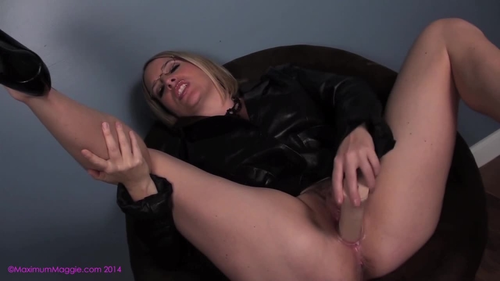 Maggie Green Mommy Indulges Sons Leather Fetish