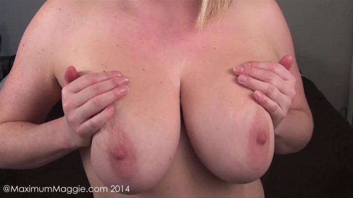 Maggie Green My G Cup Tits Need Your Cum