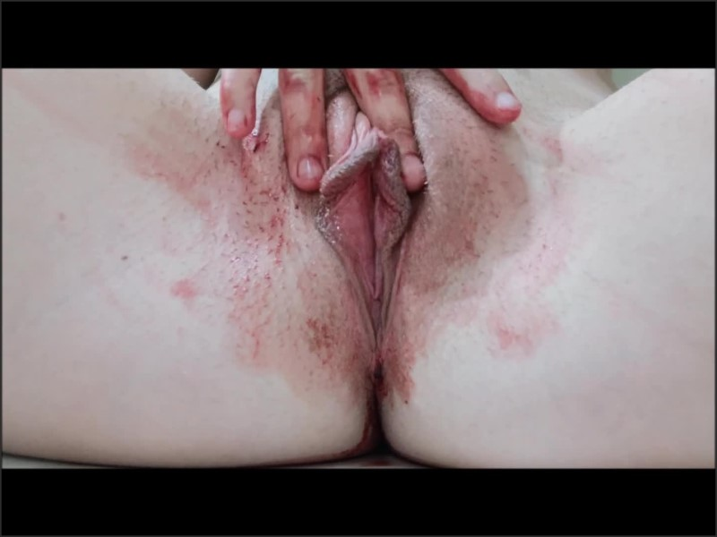 [Full HD] Gushing And Smearing On My Period - Margo Bones - -00:07:31 | Period Pussy, Period Masturbation, Teen Period Pussy - 181 MB