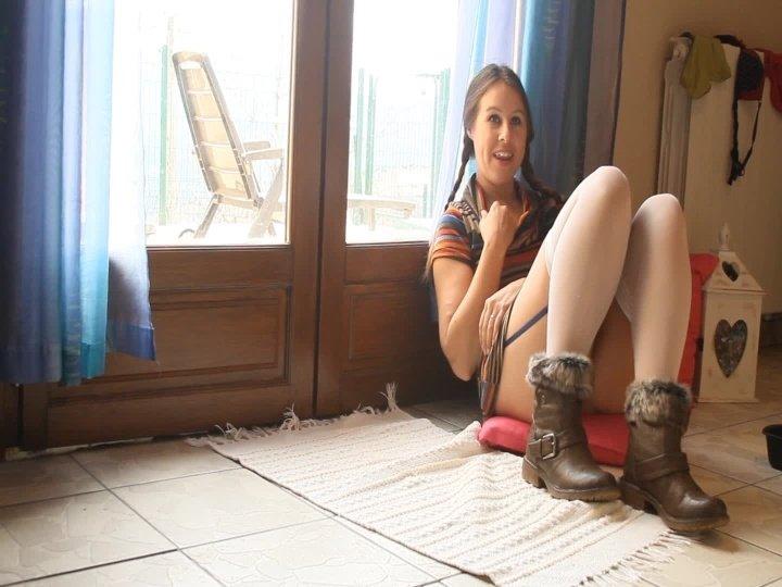 Masiedee Glass Toy Wank In Stockings