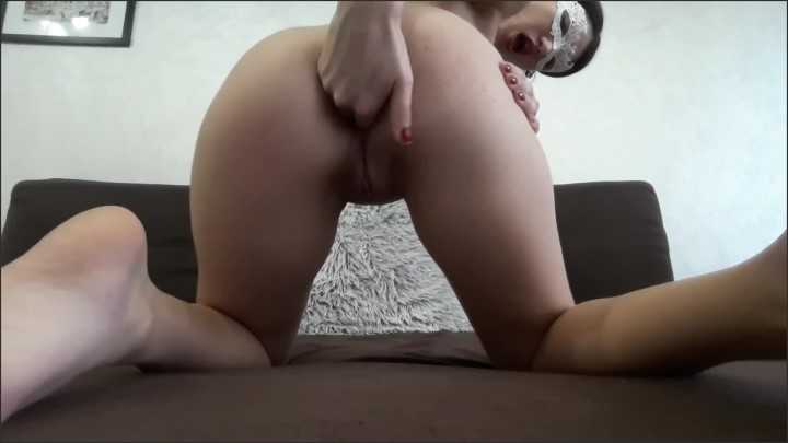 [Full HD] Self Anal Destruction With 4 Fingers And Huge Toy On My Bed - Masked Beauty - - 00:08:57 | Hardcore, Mask, Amateur - 285,3 MB