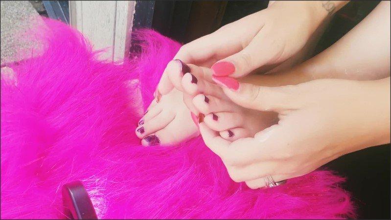 [Full HD] Lotion Massage Dildo Foot Job - May Mordabito - -00:06:58 | Massage, Long Nails, Lotion Handjob - 457,6 MB