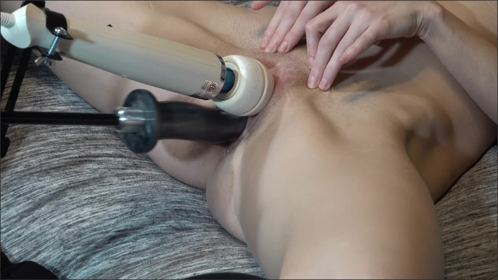 [WQHD] Milf Gets Fucked By Fucking Machine And Magic Wand On Clit For Orgasmic Fun - MilkyFantasy - - 00:10:02 | Small Tits, Adult Toys, Close Up - 445,9 MB