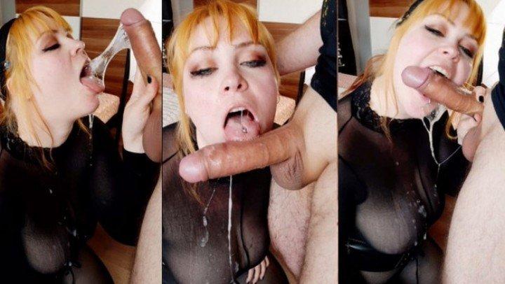 [Full HD] Minademonic Nylon Slut Gets Messy Drooling Facefuck - MinaDemonic - ManyVids-00:18:15   Wet &Amp;Amp; Messy, Spit Fetish - 438,2 MB
