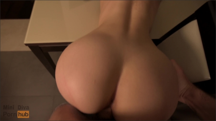 Perfect Ass Teen Gets Fucked On Table Doggy Close Up Mini Diva