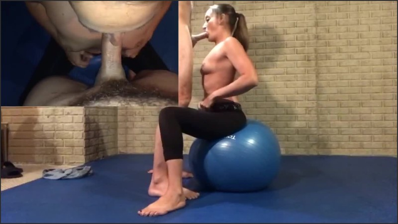 [HD] Sexy Tight Milf In Yoga Pants Gets Her Mouth And Pussy Worked Out On A Yoga Ball  - Misha Silk - -00:14:19 | Hard Fucking, Female Orgasm - 144,1 MB