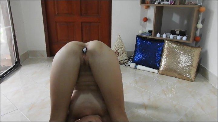 [Full HD] Stretching While Panty In Pussy 2 Orgasms - Miss Anja - - 00:31:43   Hitachi Orgasm, Legs Shaking Orgasm, Thong Fetish - 1,4 GB