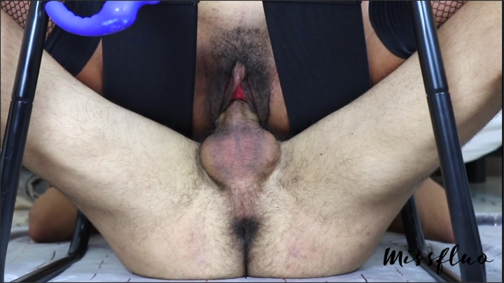 Miss Fluo Missfluo Double Orgasm On Denied Cock And Juices Spill All Over It A78