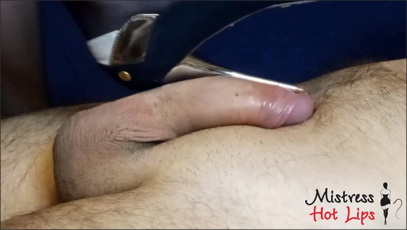 [Full HD] Stiletto Heeljob Shoejob Stomping Balls And Ruined Orgasm For Slave From Mistress Hot Lips  - Miss_Hot_Lips - -00:12:17 | Verified Amateurs, Exclusive, Big Cock - 266,3 MB
