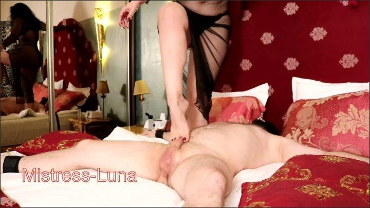 [Full HD] Arched Foot Jobs - Mistress Luna - - 00:08:45 | Big Ass, Amateur, Barefoot - 255,7 MB