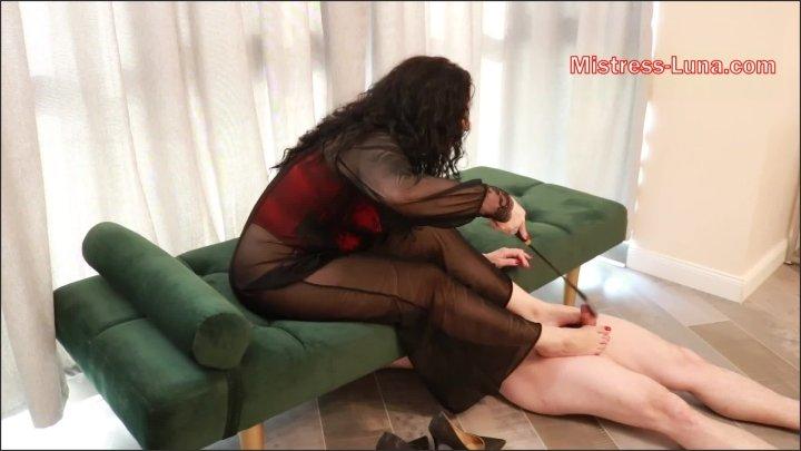 [Full HD] Footjob To Ruin Your Orgasm - Mistress Luna - - 00:07:35 | Femdom, Footjobs, Kink - 232 MB