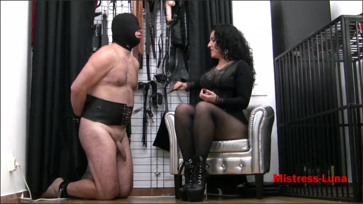 [Full HD] Pleasure For Mistress Luna - Mistress Luna - - 00:11:58 | Amateur, Boot Domination - 348,6 MB