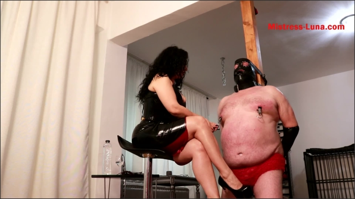 [Full HD] Slave Nipples Whipping - Mistress Luna - - 00:10:04 | Face Slapping, Whipping, Role Play - 267 MB
