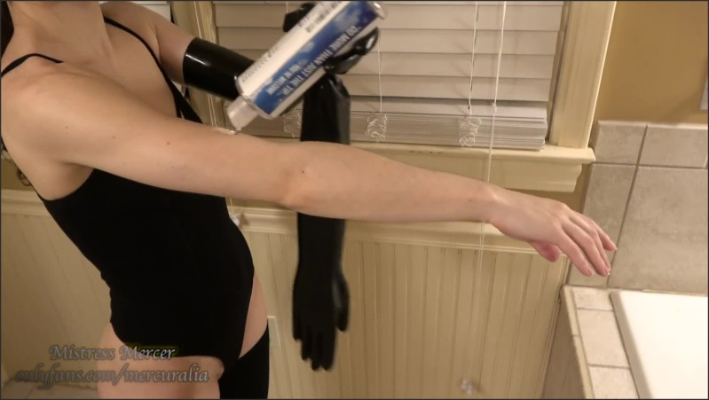 [Full HD] Naughty Masseuse Massages Her Insides With Both Hands In Long Latex Gloves  - Mistress Mercer - -00:17:48 | Transgender, Gape, Small Tits - 325,8 MB