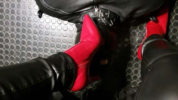 Mistress Patricia Red Heel Worship