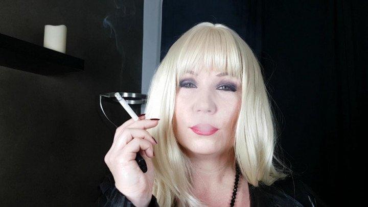 Mistress Patricia Smoking Fetish Pov