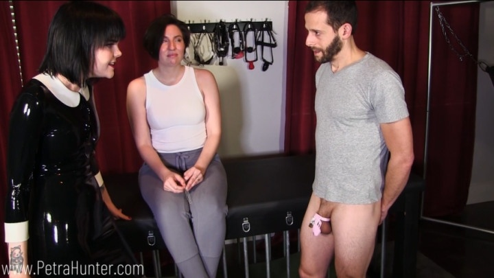 Mistresspetrahunter Mistress Teaches Wife About Chastity