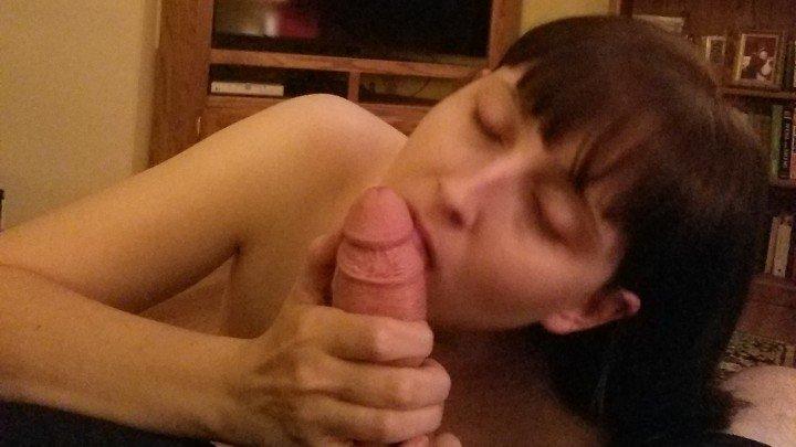 Molly Madison Long Sensual Cock Sucking