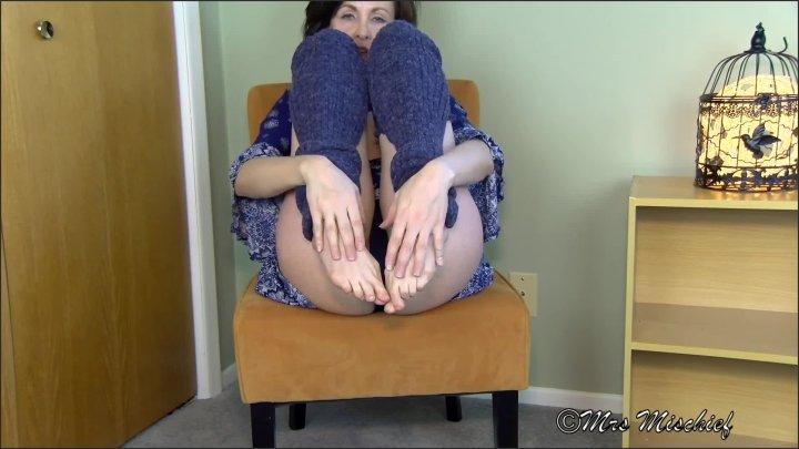 Dirty Deal For My Foot Fetish Boyfriend Mrs Mischief Femdom Milf Feet Pov