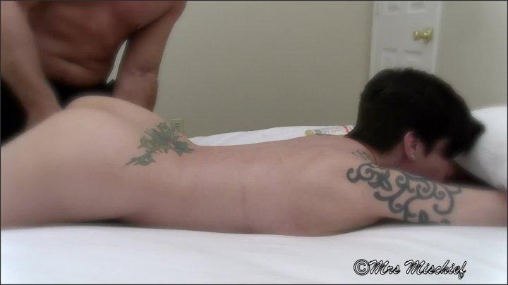 Highlights From Mrs Mischief Massage Stranger Fuck Filmed By Cuck Hubby