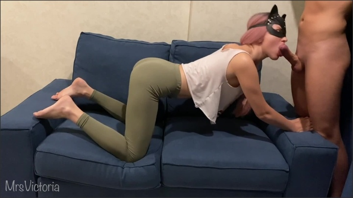 [Full HD] Hot Teen In Yoga Pants Gets Fucked Deepthroating And Cum On Her Ass - MrsVictoria - - 00:11:54 | Exclusive, Fuck Pussy, Fetish - 156,6 MB