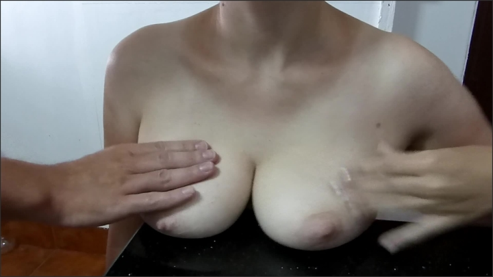 [Full HD] Cum Glazed Tits On The Cold Kitchen Top - Ms Moonberry - - 00:06:40 | Cum Boobs, Boob Squeeze, Verified Couples - 221,3 MB