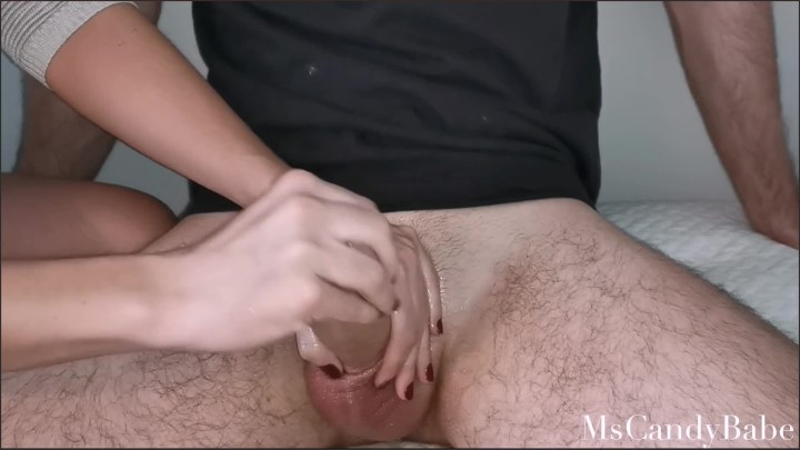 [Full HD] Handjob With Lube While She Plays With His Balls Ending With Nice Cum Load - MsCandyBabe - - 00:08:34 | Cock, Handjob, Verified Couples - 212,8 MB