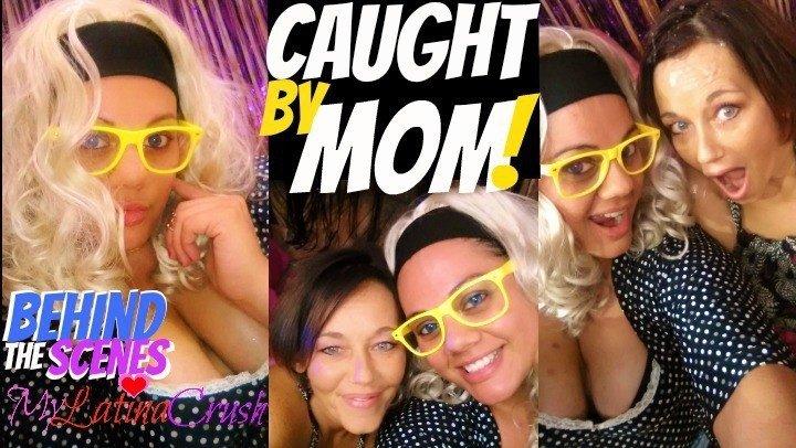 Mylatinacrush Mylatinacrush Behind The Scenes Caught By Mom