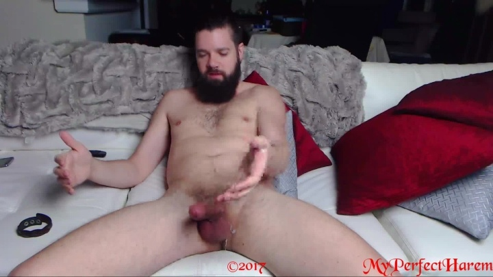 Myperfectharem Sir Watches His Porn And Masturbates