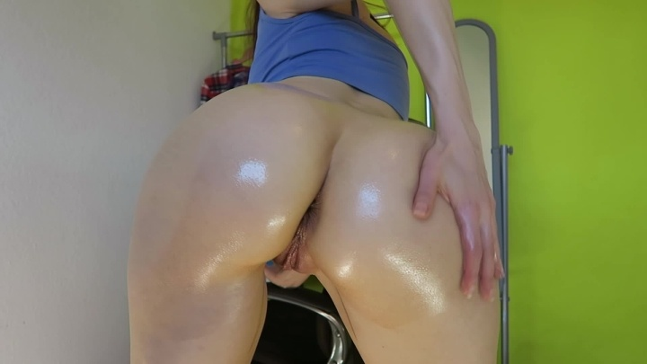 Oiled Up Booty