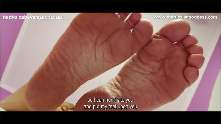[Full HD] You Penis S So Small Loser I Will Smother You With My Feet Foot Fetish Joi - Nadya Zabava - - 00:12:52 | Nadya Zabava, Foot Degradation, Kinky Mistress - 187,8 MB