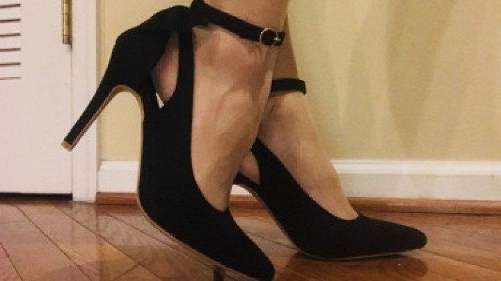 Natalia Aleksei Heel Amp Pantyhose Fetish To Feet Amp Toes