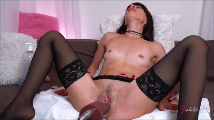 Natalieflowers Sex Machine High Sp--D Fuck My Tight Pussy
