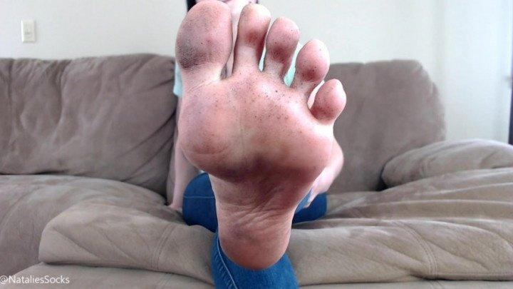 Nataliessocks Filthy Feet Joi