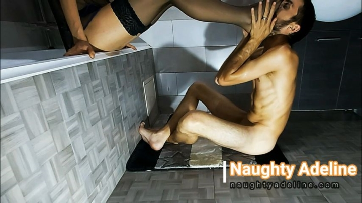 Naughty Adeline Had Him Smell And Sniff My Feet Promo